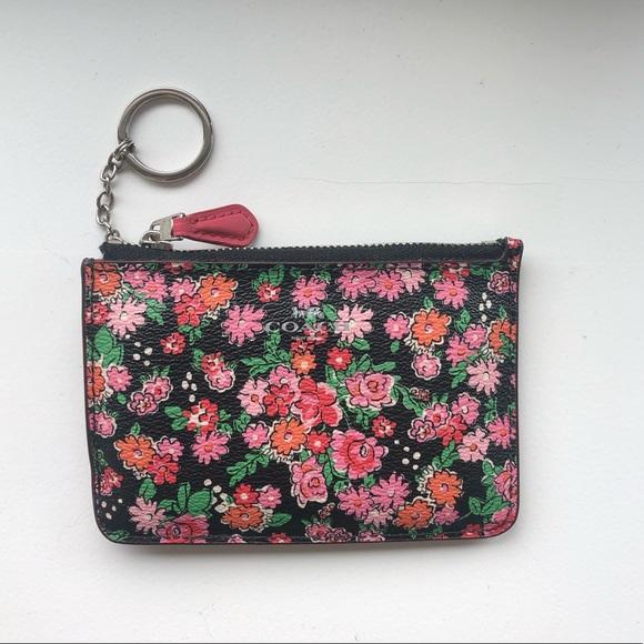 Coach Handbags - NWOT Coach Flower Wallet